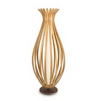 Lámpara de pie Bamboo Grok con fondo blanco
