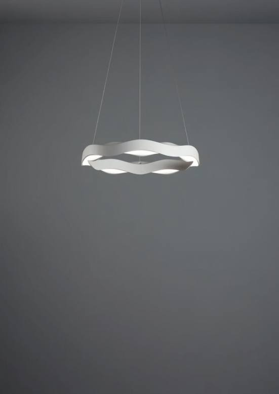 Lámpara hello grok en fondo gris