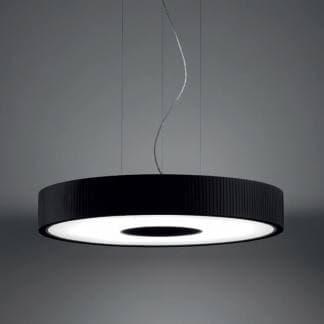 Lámpara spin grok negra