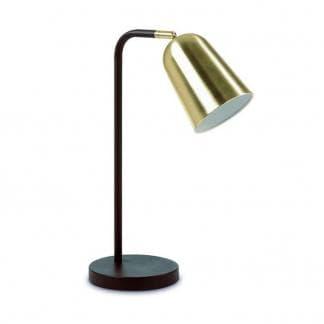 Lámpara de mesa fina con foco regulable. Diseño Astrid de Exo Novolux. Estilo contemporáneo.