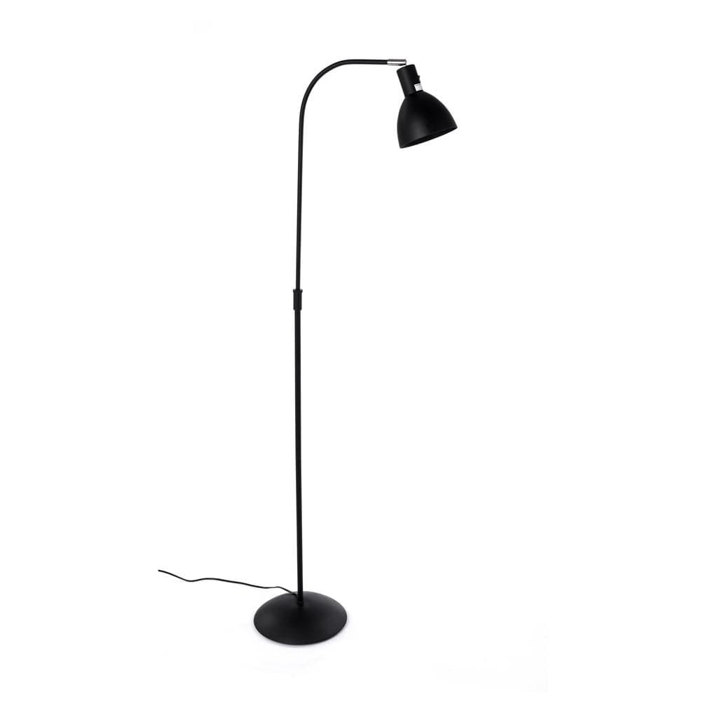 orientable metal regulable en Lámpara negro de y con pie vintage altura bfY6gy7