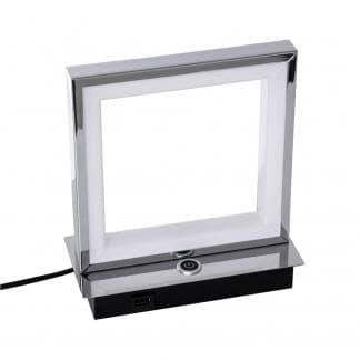 Lámpara de mesa con enchufe USB para el cargar movil