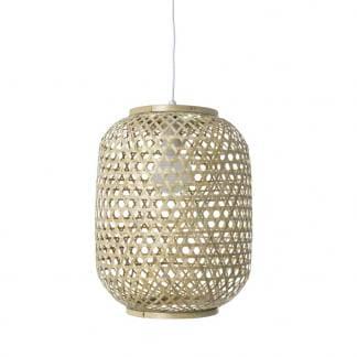 Lámpara colgante de bambú Zhudima
