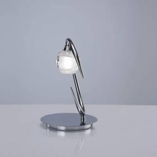 Lámpara de mesa loop cromo mantra