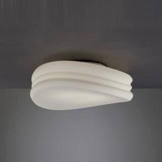 Plafón de techo blanco mediterráneo Mantra 50cm