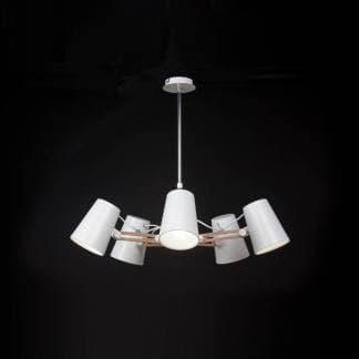 Lámpara de techo looker Mantra cinco luces