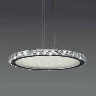 Lámpara de techo cristal led Mantra
