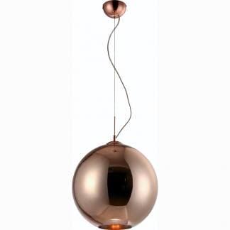 Lámpara de techo bronce cristal Mantra 40cm