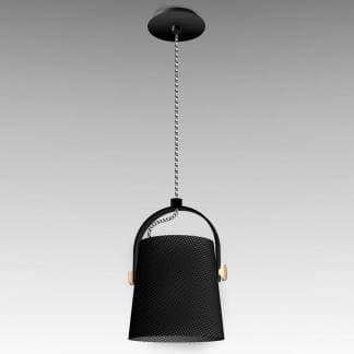 Lámpara de techo nórdica negra Mantra