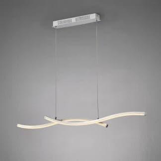 Lámpara de techo moderna alargarda surf Mantra