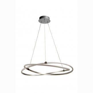 Lámpara de techo infinity plata cromo Mantra 51cm