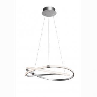 Lámpara de techo infinity plata cromo Mantra 71cm