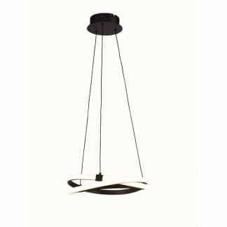 Lámpara de techo minimalista infinity forja Mantra 38cm
