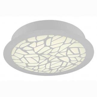Plafón de techo blanco petaca Mantra led