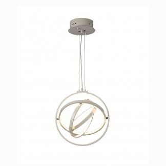 Lámpara de techo estilo moderno blanca orbital Mantra control remoto 40cm