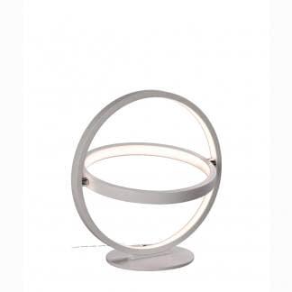 Lámpara de mesa blanca orbital Mantra