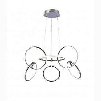 Lámpara de techo moderna aros Mantra 81w