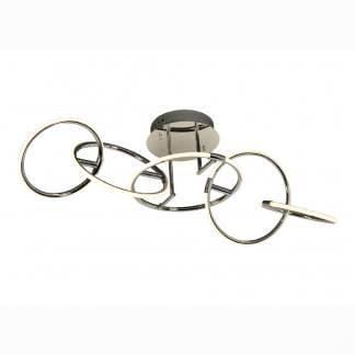 Lámpara de techo corta aros Mantra 59w