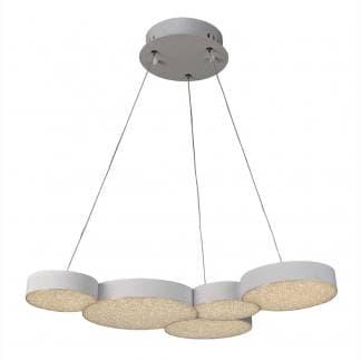 Lámpara de techo lunas Mantra 43w control remoto