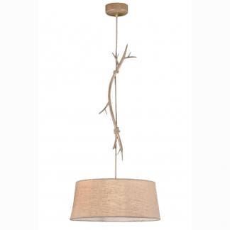 Lámpara de techo rama de árbol sabina Mantra 60cm