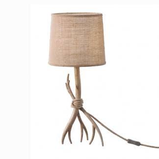 Lámpara de mesa ramas de árbol sabina Mantra