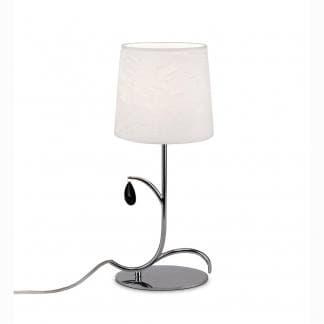 Lámpara de mesa andrea cromo Mantra