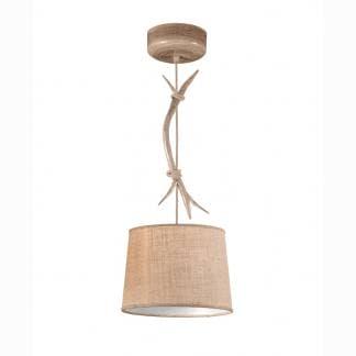 Lámpara de techo ramas de árbol corta sabina Mantra