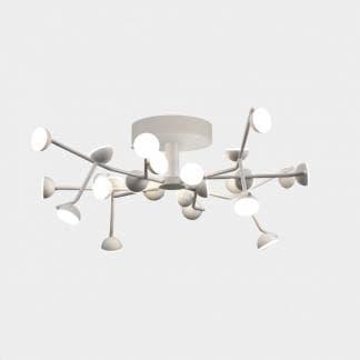 Lámpara de techo de estilo minimalista adn corta