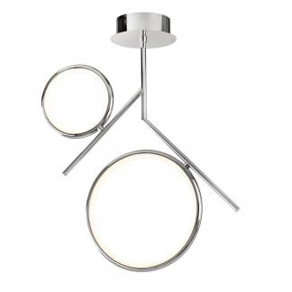 Lámpara de techo olimpia cromo Mantra 30w