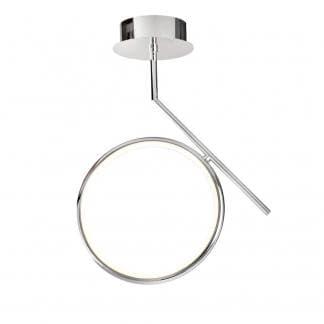 Lámpara de techo olimpia cromo Mantra