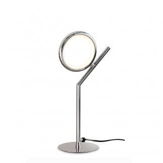 Lámpara de mesa olimpia cromo Mantra
