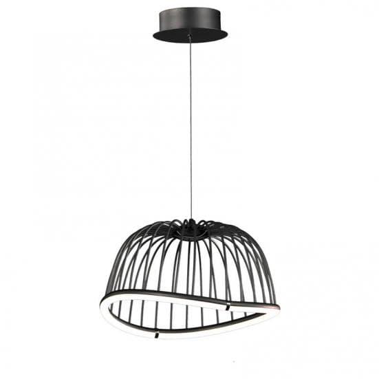 Lámpara de suspensión minimalista celeste Mantra pequeña