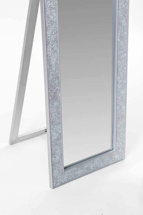 Espejo de pie plata mosaico 1