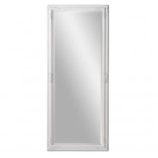 Espejo de pared de resina blanco