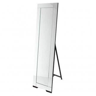 Espejo de pie con marco de espejo
