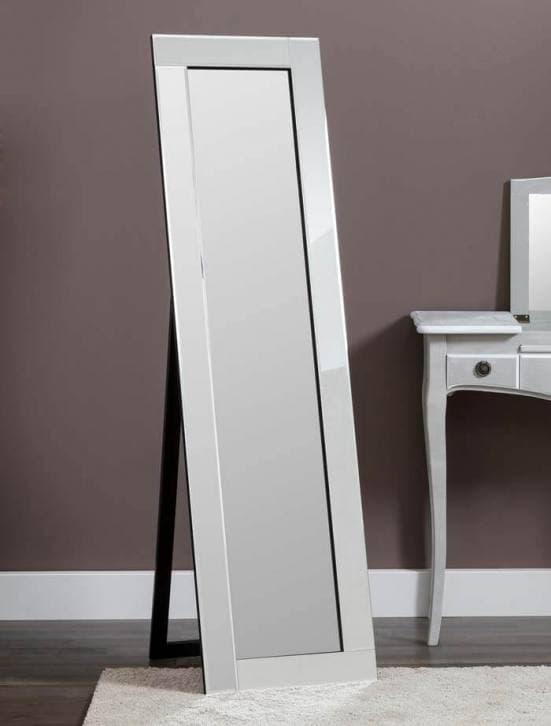 Espejo de pie con marco de espejo decoración