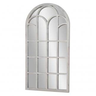 Espejo ventana gris decapado resina