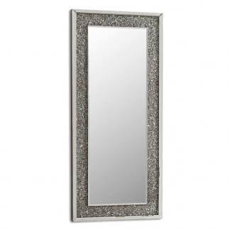 Espejo de pared con marco mosaico cristales