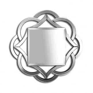 Espejo veneciano con formas