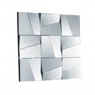 Espejo veneciano geométrico