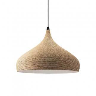 Lámpara de techo de cuerda Clavel Ineslam