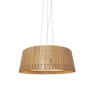 Lámpara de techo de madera CIPRES