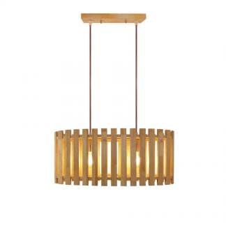 Lámpara de techo de madera FLOX