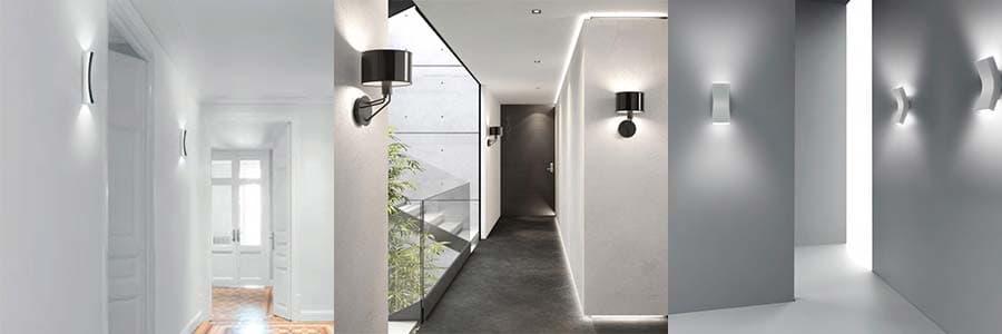 como iluminar un pasillo - ideas de iluhome para iluminar